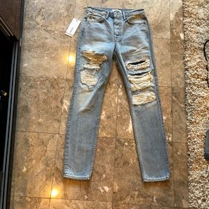 GRLFRND KAROLINA HIGH-RISE SKINNY JEAN Size 27 new